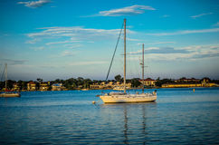Sailboating w Nawadnia Floryda Zdjęcia Royalty Free