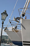 sailboats ναυπηγείο Στοκ εικόνες με δικαίωμα ελεύθερης χρήσης