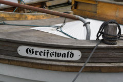 Sailboats στο λιμάνι Στοκ εικόνες με δικαίωμα ελεύθερης χρήσης