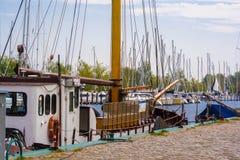 Sailboats στο λιμάνι Στοκ φωτογραφίες με δικαίωμα ελεύθερης χρήσης