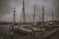 Sailboats στο ναυτικό στις Κάτω Χώρες Στοκ φωτογραφία με δικαίωμα ελεύθερης χρήσης