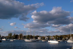 Sailboats Stock Photography