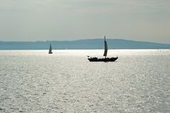 Sailboats Royalty Free Stock Photography