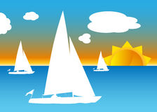 Sailboats Stock Images