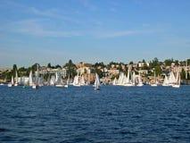 Sailboats... stock images