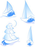 Sailboats Royalty Free Stock Image