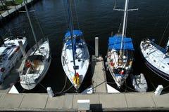 sailboats Immagine Stock Libera da Diritti