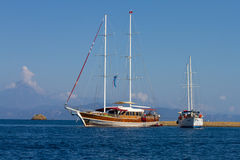 sailboats Photo stock