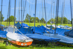 sailboats Images libres de droits