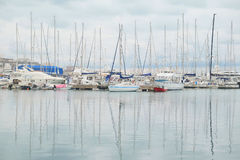 sailboats fotografie stock