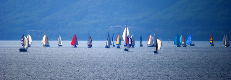 Sailboats Foto de Stock Royalty Free