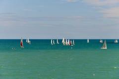 sailboats Imagen de archivo libre de regalías