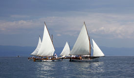 sailboats fotos de archivo