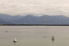 Sailboats on Bodensee Stock Images