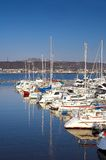 Sailboats in Bodo Royalty Free Stock Images