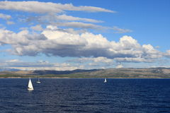Sailboats (Croatia) Royalty Free Stock Photography