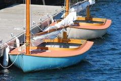 Sailboats docked Royalty Free Stock Photography
