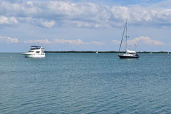 Sailboats in Florida Keys Stock Photo