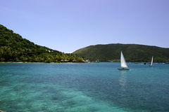 Free Sailboats In Tropical Ocean Stock Image - 6606811