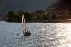 Sailboats at Lake Como, Italy Royalty Free Stock Photo