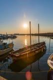 Sailboats at marina dock in Chania/Crete/Greece Stock Photography