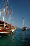 Sailboats At Marmaris Stock Photography