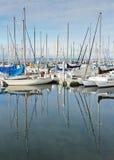 Sailboats and Masts Stock Photos