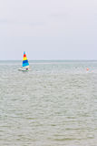 Sailboats racing Royalty Free Stock Photography