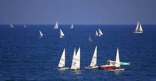Sailboats regatta Stock Photo