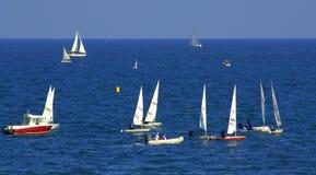 Sailboats regatta Royalty Free Stock Photo