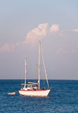 Sailboats at sea Stock Photography