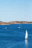 Sailboats at sea Stock Photo
