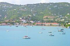 Sailboats in St. Thomas USVI Royalty Free Stock Image