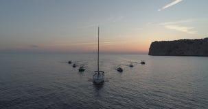 sailboats fotografia de stock