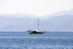 Sailbot Royalty Free Stock Image