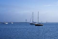 Sailbots, Uroczysty Marais Fotografia Royalty Free
