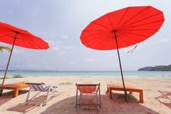 Sailer on beach Royalty Free Stock Photography