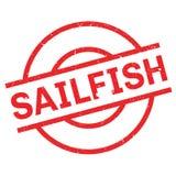 Sailfish rubber stamp Royalty Free Stock Photo