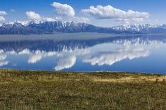 Sailimu Lake Royalty Free Stock Photo