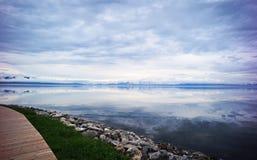 Sailimu lake Stock Photos