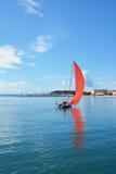 Sailin в порте разделения Стоковое Изображение RF