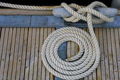 sailing веревочки Стоковые Изображения RF