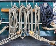 sailing веревочки Стоковые Фотографии RF