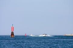 sailing гавани шлюпки Стоковое Фото