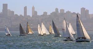 sailing города Стоковые Изображения