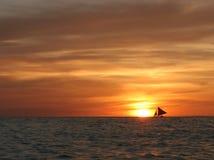 sailing западный Стоковые Изображения
