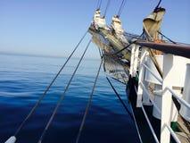 sailing логотипа иллюстрации готовый для использования сосуда вектора Стоковые Фото