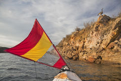 sailing озера colorado каня Стоковые Изображения