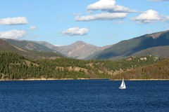 sailing озера dillion Стоковые Фотографии RF