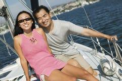 sailing пар Стоковое Изображение RF